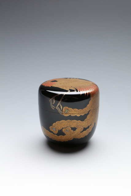 , 'Tea Caddy with Hō-ō Bird (T-4387),' Showa (1926–89) era-1980s, Erik Thomsen