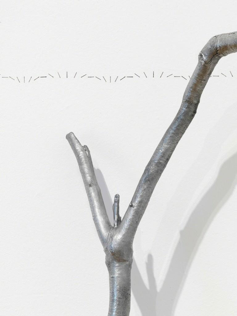 Alicja Kwade, '113 days, 3 hours' (2014 / 2018 - ongoing), 'Parralelwelt (Ast/AntiAst)' (2018). Detail, Kunsthal Charlottenborg 2018. Photo: Roman März. Courtesy the artist, KÖNIG GALERIE, Berlin / London, 303 GALLERY, New York, kamel mennour, Paris / London.