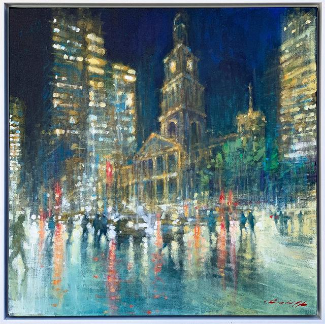 David Hinchliffe, 'Sydney Town Hall', ca. 2019, Wentworth Galleries