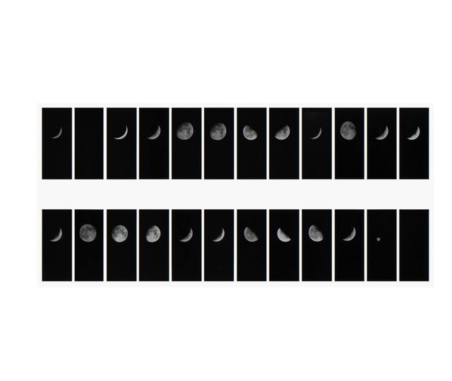 Leandro Katz, 'Lunar Phrase #2 (A BELLSHAPED CONJECTURE), ', 1979, Herlitzka + Faria