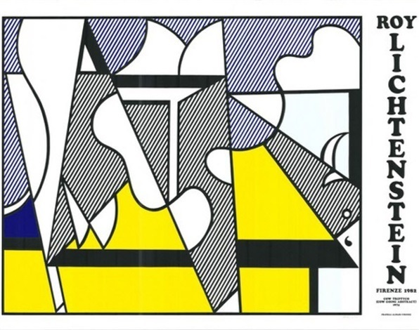 Roy Lichtenstein, ' Cow Going Abstract Tryptic', 1974, Kumi Contemporary / Verso Contemporary