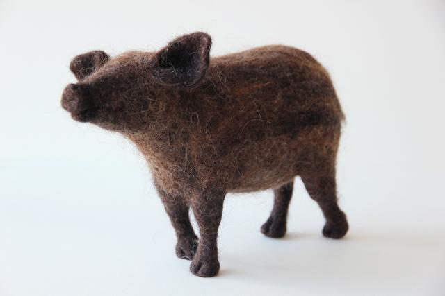 , 'Boar,' 2018, Herringer Kiss Gallery