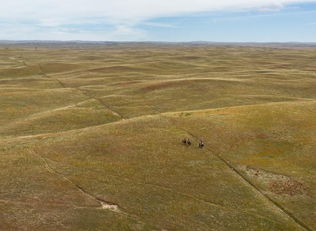 , 'Riding Fence, Sheridan County, Nebraska,' 2013, Kopeikin Gallery