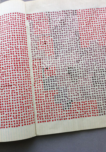 , 'Exercice d'un artiste (Dots),' 1975, Galerija Gregor Podnar
