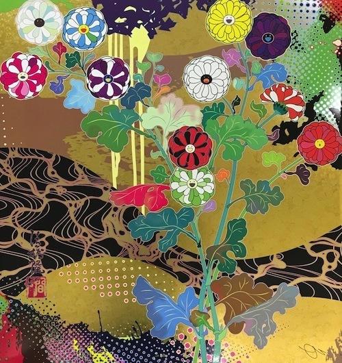 Takashi Murakami, 'Korin: The Time of Celebration', 2017, Vogtle Contemporary