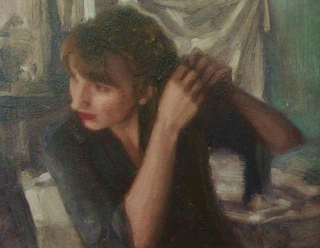 Ewan McClure, 'Braid', 2018, Painting, Oil on board, Castlegate House Gallery