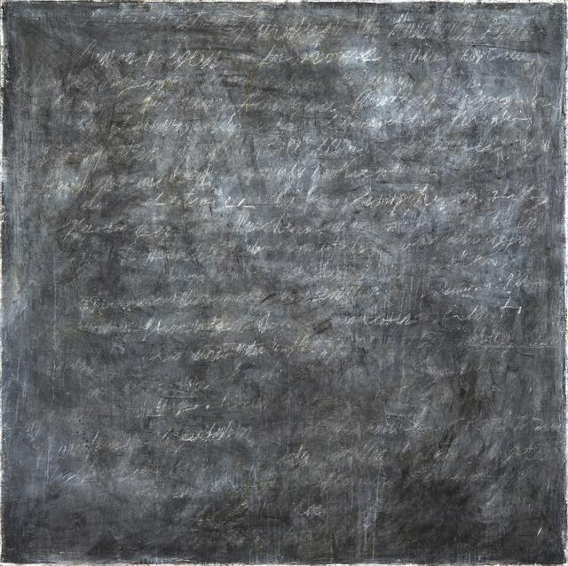 , 'Writings [Black] #5,' 2016, InLiquid