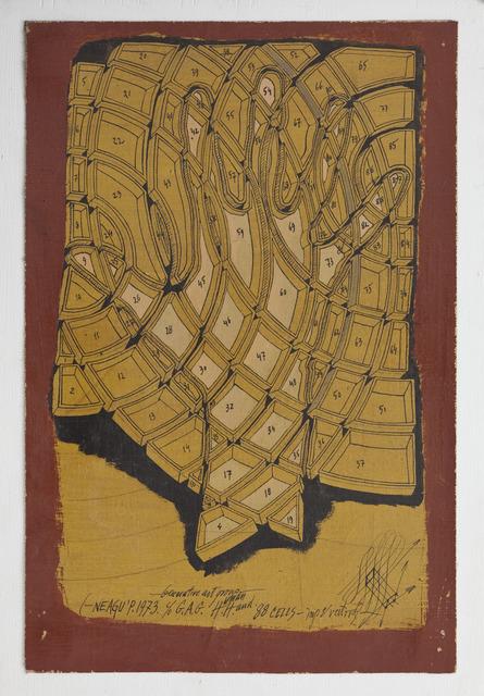 , 'Human Hand 88 cells,' 1973, Ivan Gallery