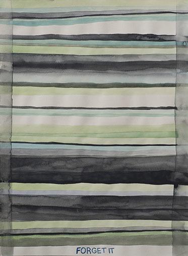 , 'Domestic Textile Series, Forget It,' 2017, frosch&portmann