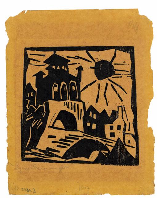 , 'Das Tor, Ribnitz (Town Gate, Ribnitz),' 1912, Harris Schrank Fine Prints