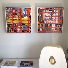 , 'Mesh No. 1 & 2 Diptych / Cautionary Tales ,' 2015, Andra Norris Gallery