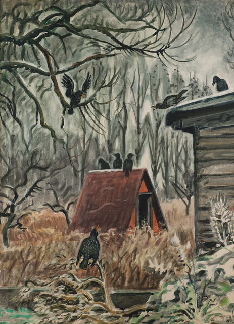 , 'Crows at Twilight,' 1948, Questroyal Fine Art