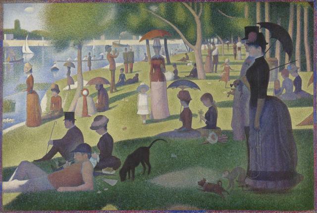 Georges Seurat, 'A Sunday on La Grande Jatte -- 1884', 1884 -86, Art Institute of Chicago