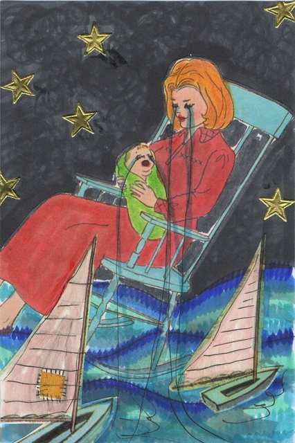 , 'The Past That Suits You Best: Mommy and Me Lost at Sea,' 2015-2016, Tillou Fine Art