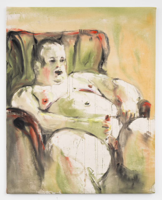 , 'chubby teen (chill in the chair),' 2015, DITTRICH & SCHLECHTRIEM