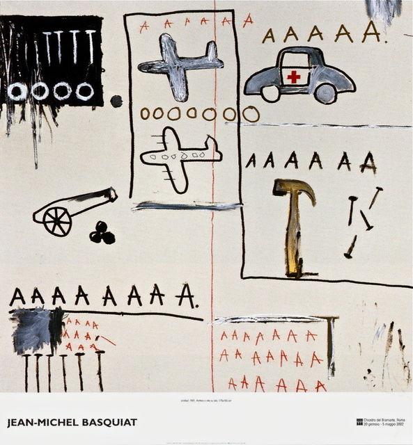 Jean-Michel Basquiat, 'Untitled (1981) exhibition poster', 2002, MSP Modern