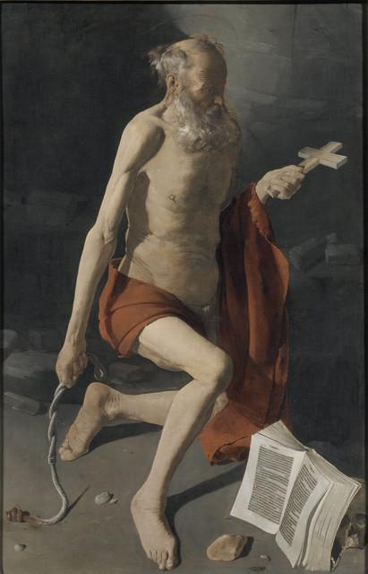, 'Penitent Saint Jerome,' 1628-1630, Museo Nacional del Prado