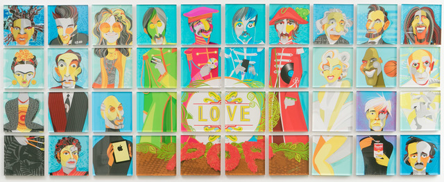 , 'Love Pop,' 2016, Zhou B Haus der Kunst