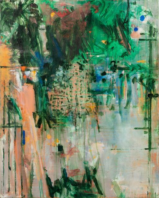 Fik van Gestel, 'Balkon', 2018, Painting, Acrylics on linen, Galerie Zwart Huis