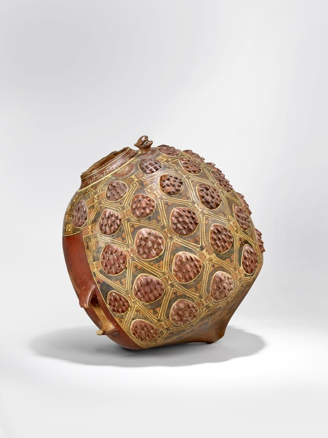 , 'Aryballe à décor de spondyles (Aryballos decorated with spondylus),' 1450-1532, Musée du quai Branly