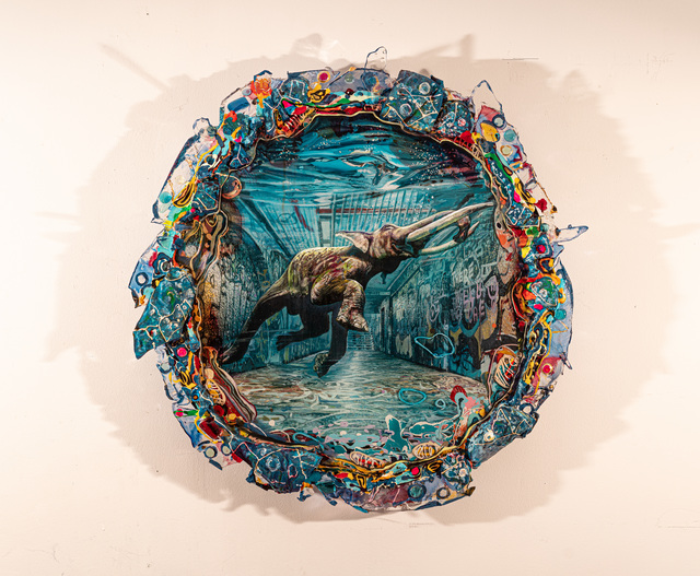 Valery Yershov, 'Elephant Bath', 2019, VK Gallery