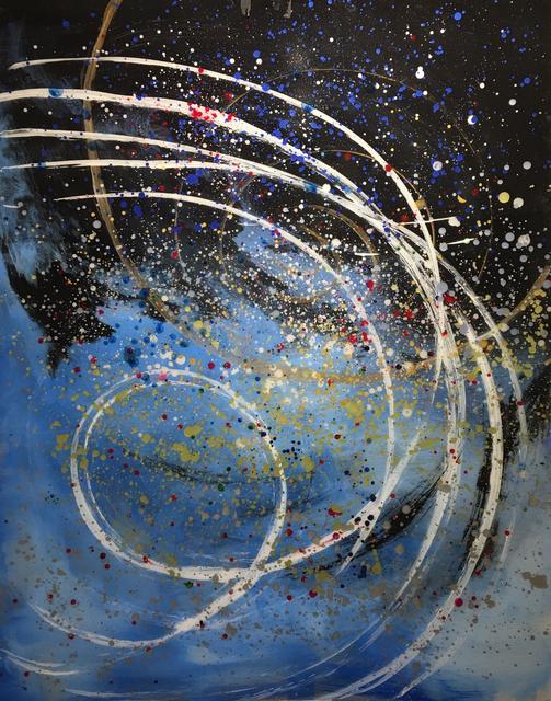 , 'Multiverse Galaxy I,' 2017, Hilton Asmus