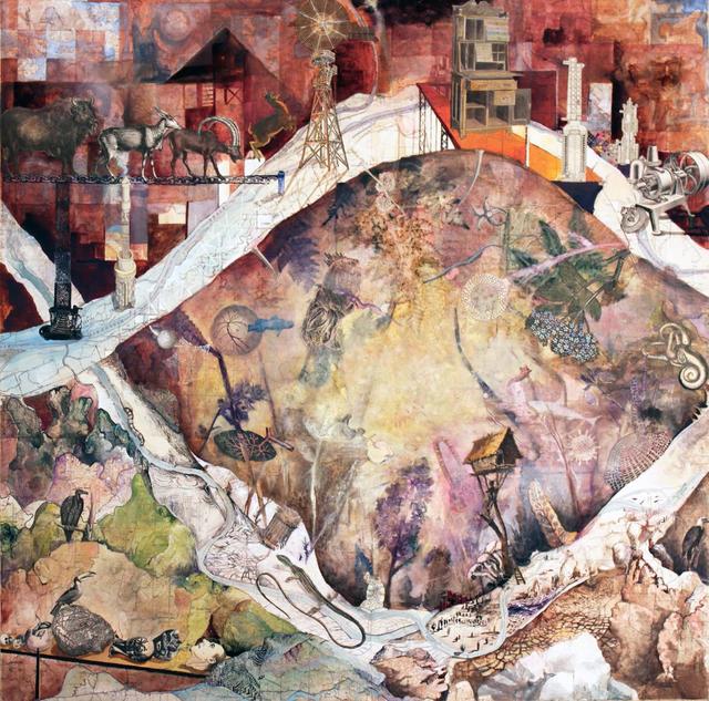 , 'Have You Seen the Red Village?,' 2012, Koplin Del Rio