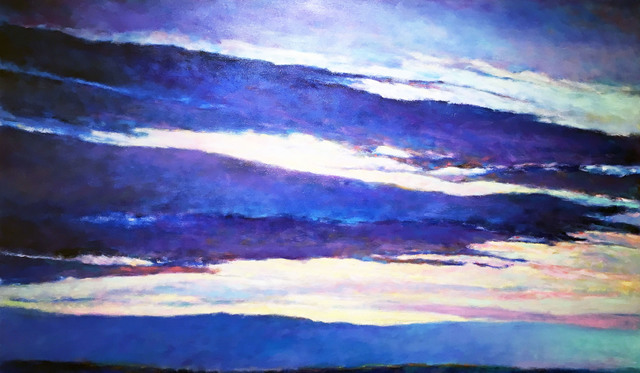 , 'Blue Skyscape,' 2011, Madelyn Jordon Fine Art