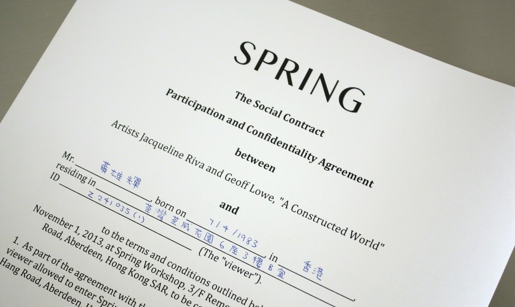 A Constructed World The Social Contract Spring Workshop Artsy