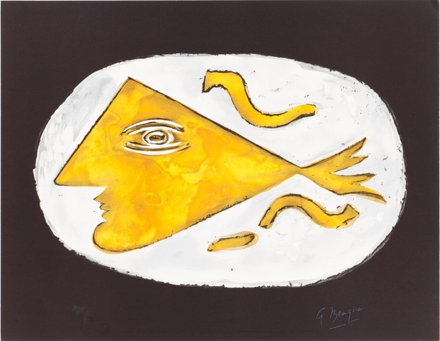 Georges Braque, 'Hera', 1988, Print, Color lithograph on Arches paper, Samhart Gallery