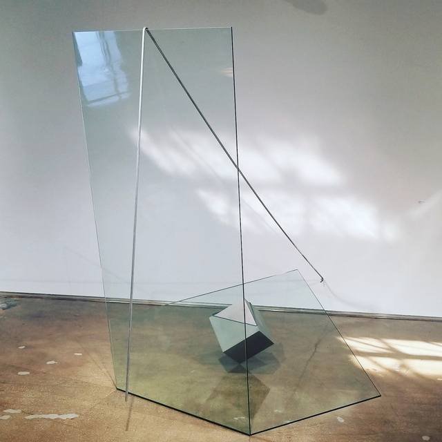 Túlio Pinto, 'Buraco no céu [Hole in the sky]', 2018, Sculpture, Glass and Steel, Piero Atchugarry Gallery