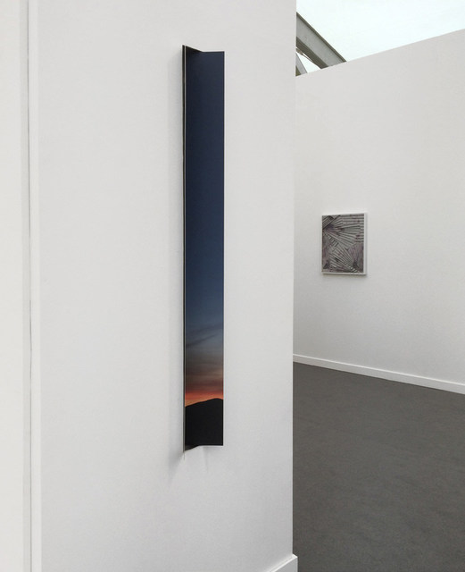 , 'Joshua Tree Sunset Wall Fold,' 2016, GRIMM