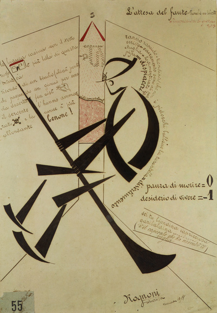 , 'L'attesa del fante (Waiting Sentinel),' 1917, Adler & Conkright Fine Art