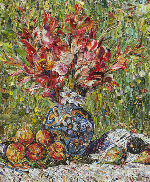 , 'Flowers and Fruit, after Pierre-Auguste Renoir,' 2013, Matthew Liu Fine Arts