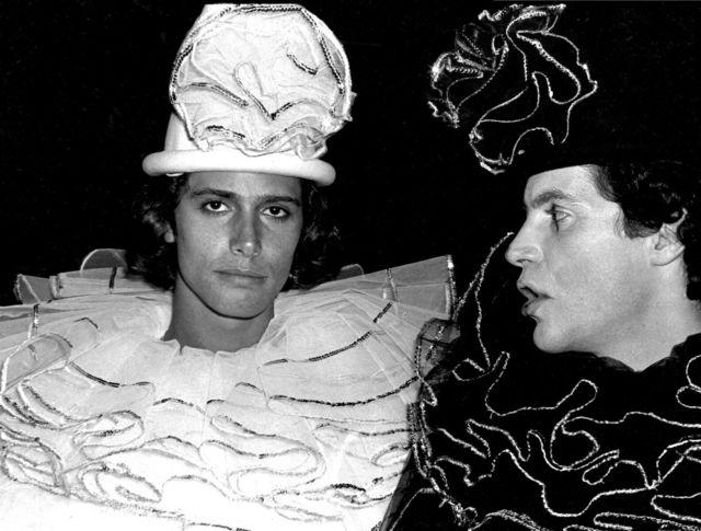 , 'Clowns (Carlos Souza and Lorenzo Villarini),' 1978, Edelman Arts