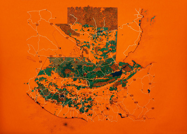 , 'Guatemala Human Rights Commission: selected cases of violence in relations to current mega projects,' 2019, Tyler Rollins Fine Art