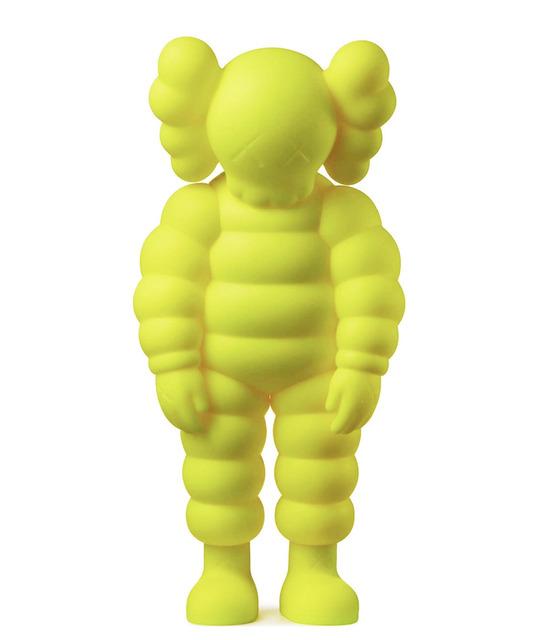 KAWS, 'What Party - Chum (Yellow)', 2020, Sculpture, Vinyl, Dellasposa