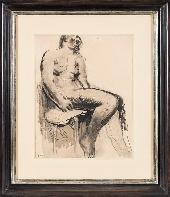 , 'Seated Nude,' 1929, Rosenberg & Co.