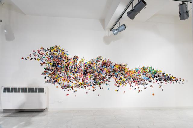 , 'In una giungla di cazzate,' 2019, SimonBart Gallery