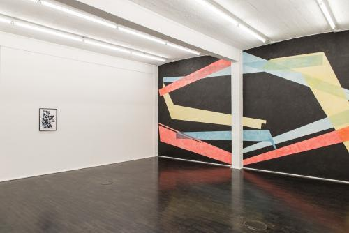 , 'Ausstellungsansicht 'displaced', Galerie Rupert Pfab,' 2015, Galerie Pfab