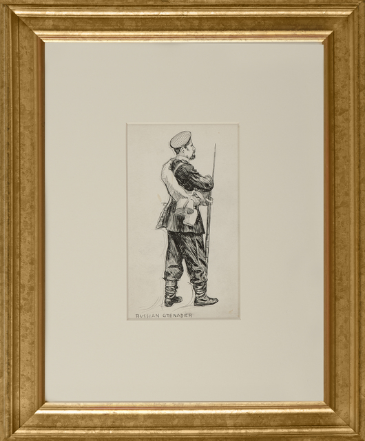 , 'Russian Grenadier,' ca. 1900, Thurston Royce Gallery of Fine Art, LTD.