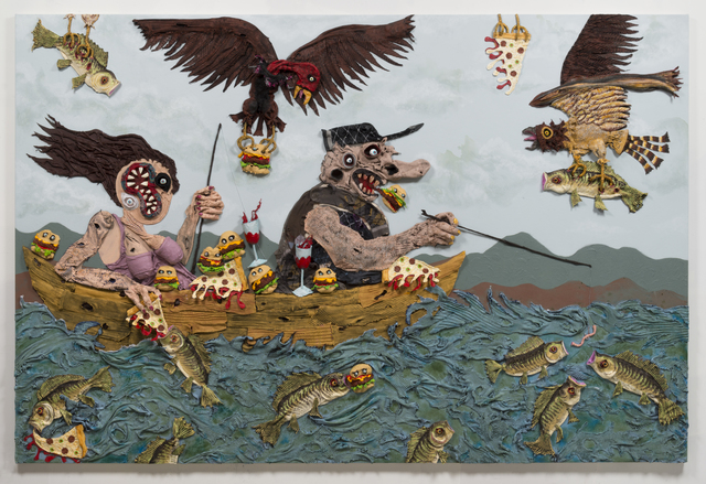 , 'Gone Fishin',' 2017, Joshua Liner Gallery