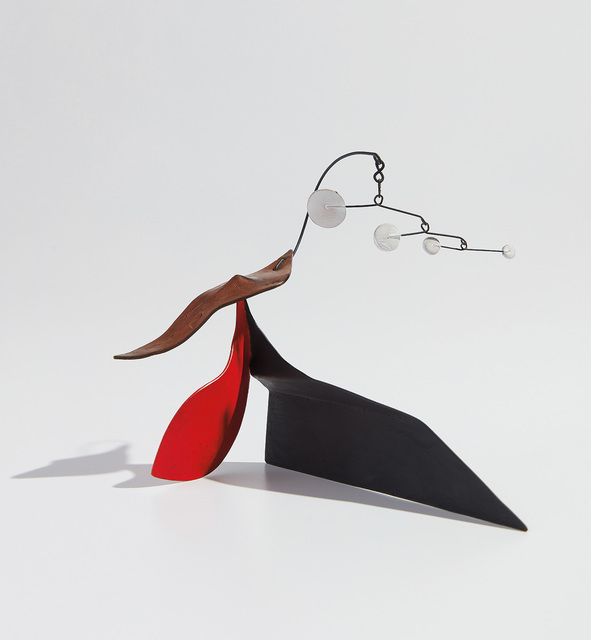 Alexander Calder, 'Four Dots with Brass Tail', ca.1953, Phillips