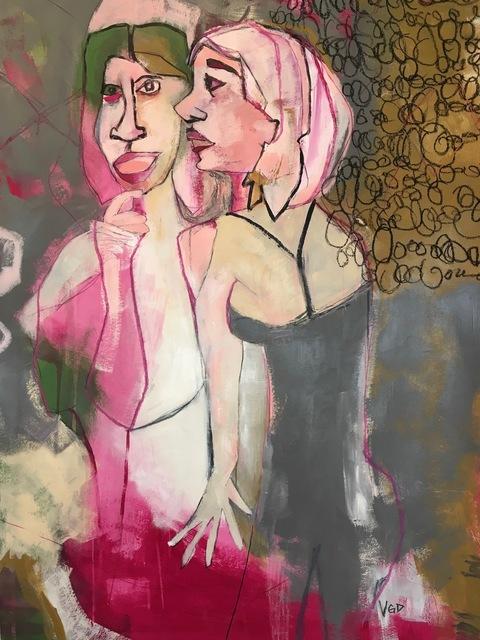 Vikki Drummond, 'THE SECRET', 2019, Painting, Acrylic on paper, ARTE funktional