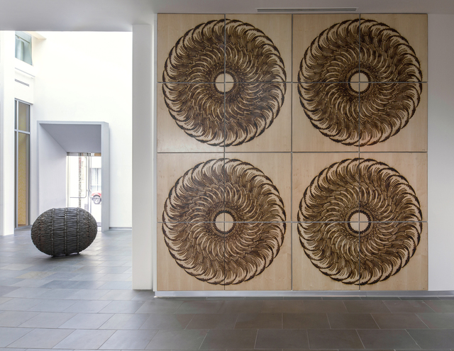 John Bisbee, 'Wheelbillow', 2015, Sculpture, Branded Maple Ply, Sapar Contemporary