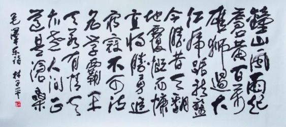 , ' The People's Liberation Army Captures Nanjing by Mao Zedong 七律·人民解放军占领南京 - 毛泽东,' , Ode to Art
