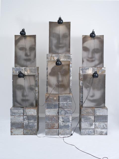 , 'Reliquaire,' 1990, Templon