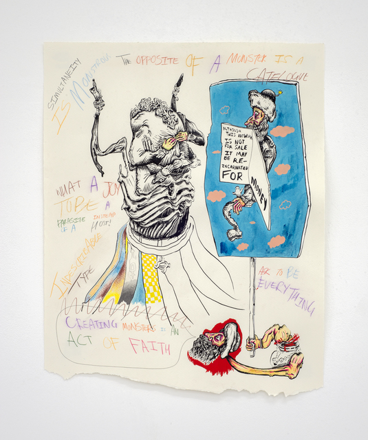 , 'Notes on Monster Portraits (Samatar),' 2018, Jhaveri Contemporary