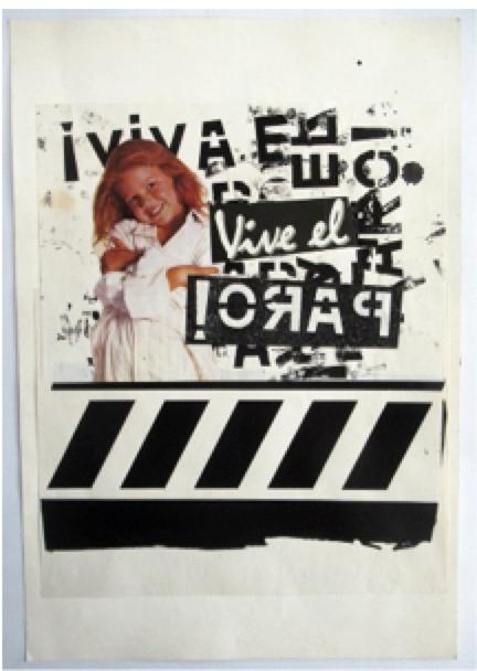 , 'Vive al paro ,' 1988, Herlitzka + Faria