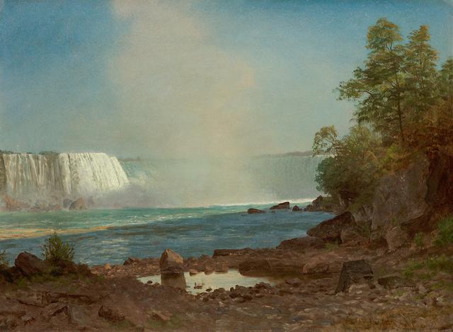 , 'Niagara Falls,' , Questroyal Fine Art